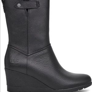 UGG Potrero waterproof wedge bootie NEW